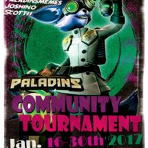 Paladins Community Tournament Flyer